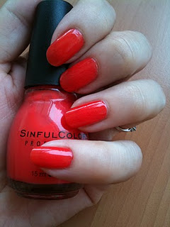 vernis orange pas cher