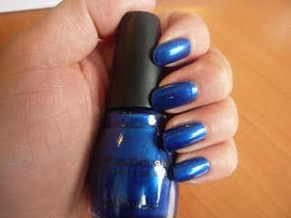 Vernis Bleu Sinful Galeries Lafayette