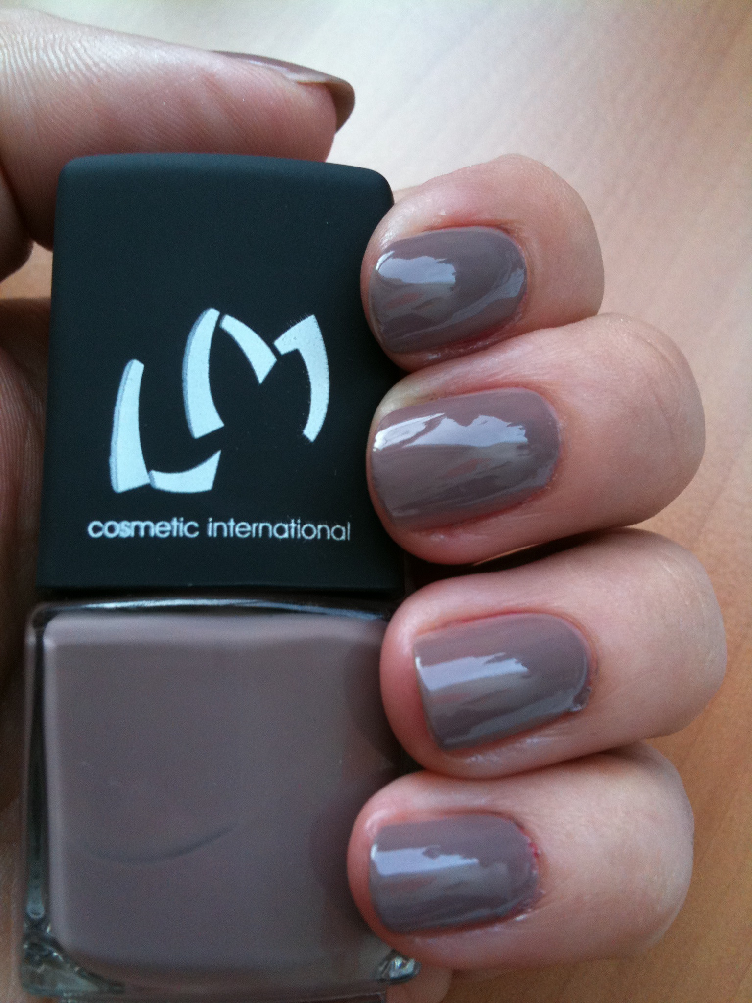 Vernis Nude Taupe LM Cosmetic