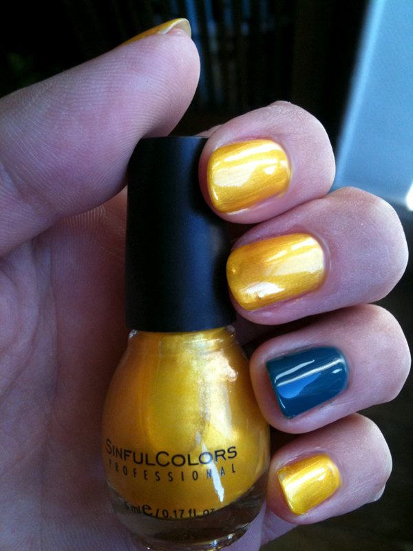 Sinful Colors - Canary Yellow
