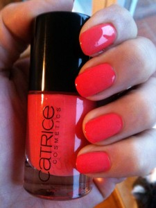 vernis corail 