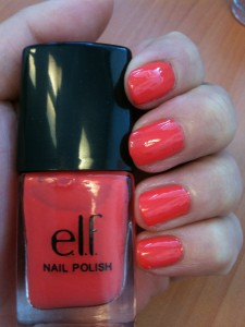 vernis coral 1 euro
