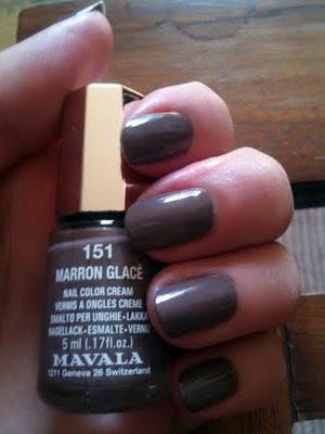 Mavala Marron Glacé
