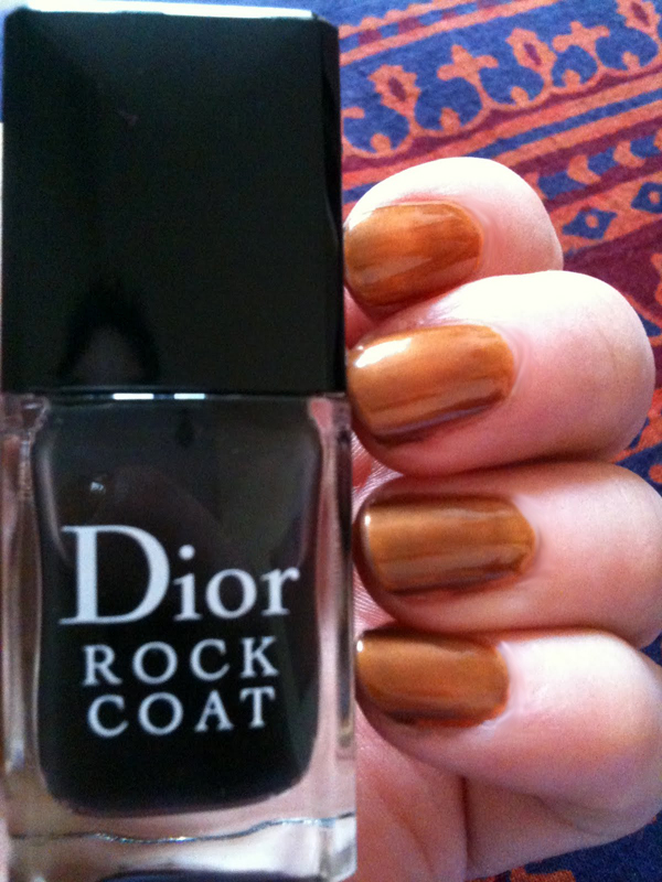 Sinful Colors Orange Cloud + Rock Coat Dior