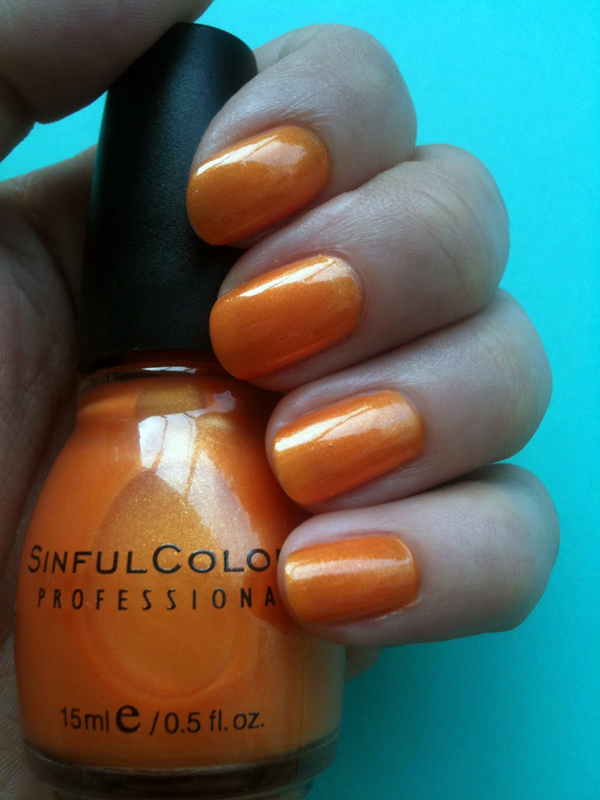 Sinful Colors - Orange Cloud