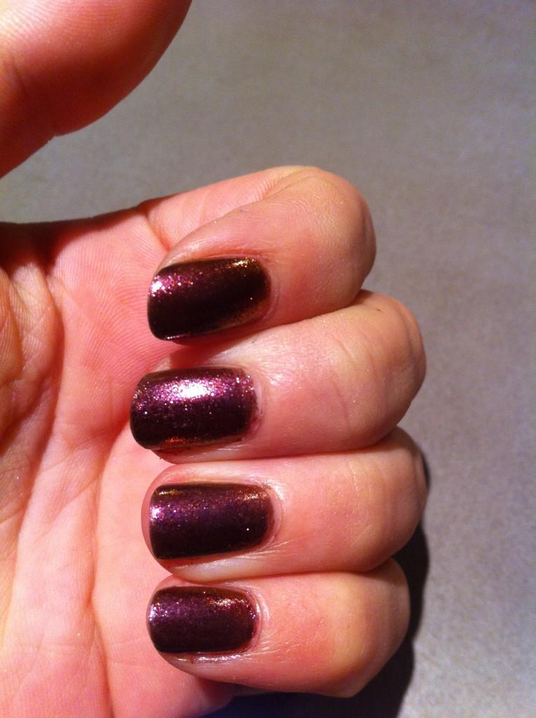 vernis duochrome violet brun