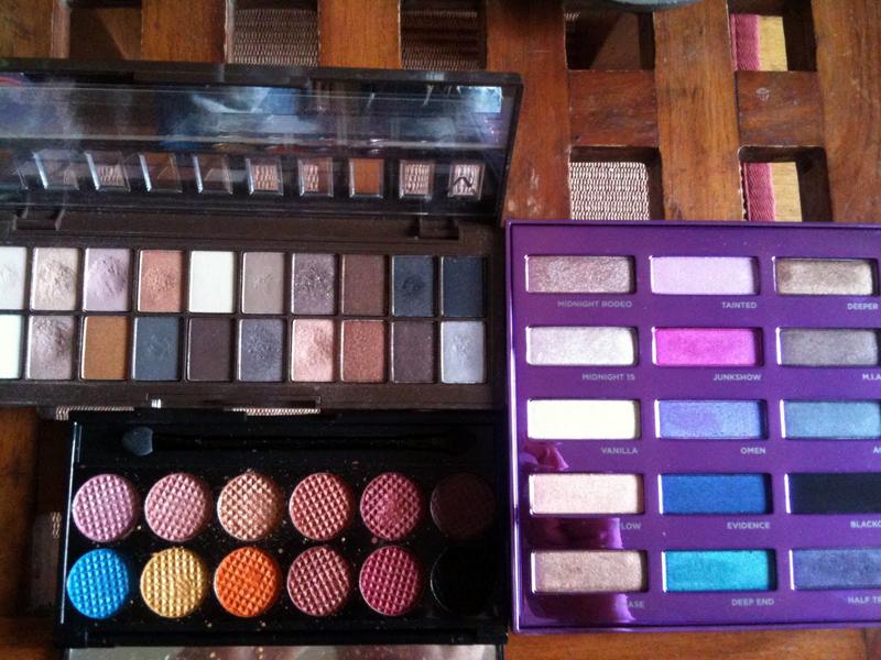 Palettes colorées