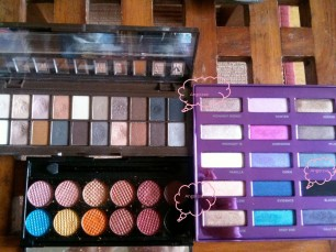 palettes de maquillage