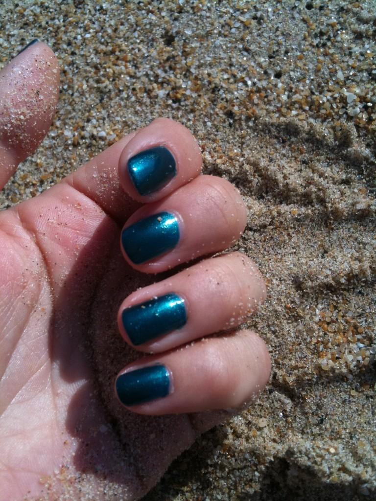 Vernis pour la plage et l'été indien