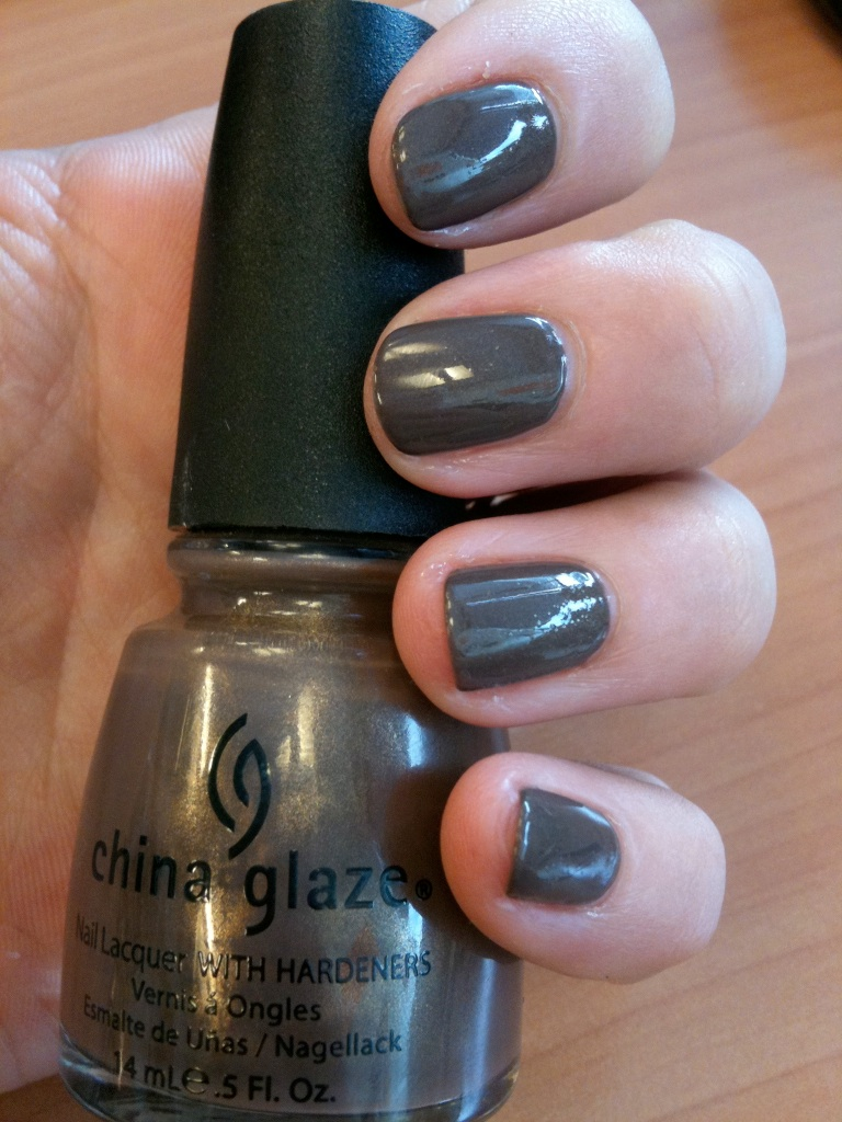 vernis china glaze brun irisé