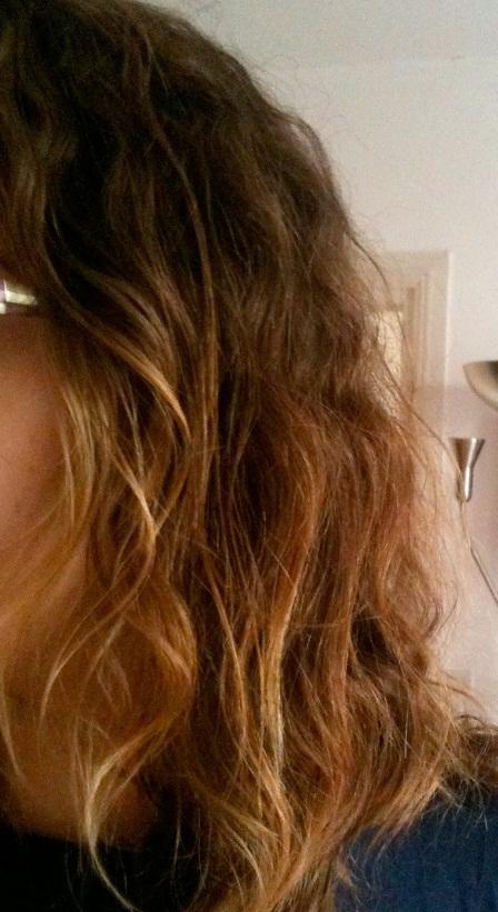 cheveux après lissage brésilien