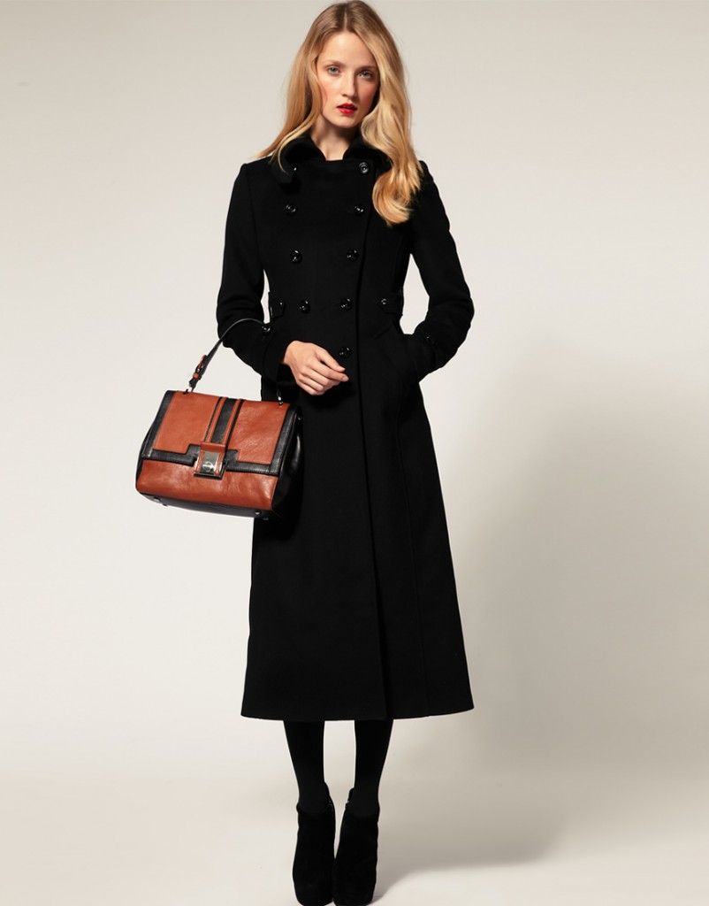 manteau noir valeur sûre