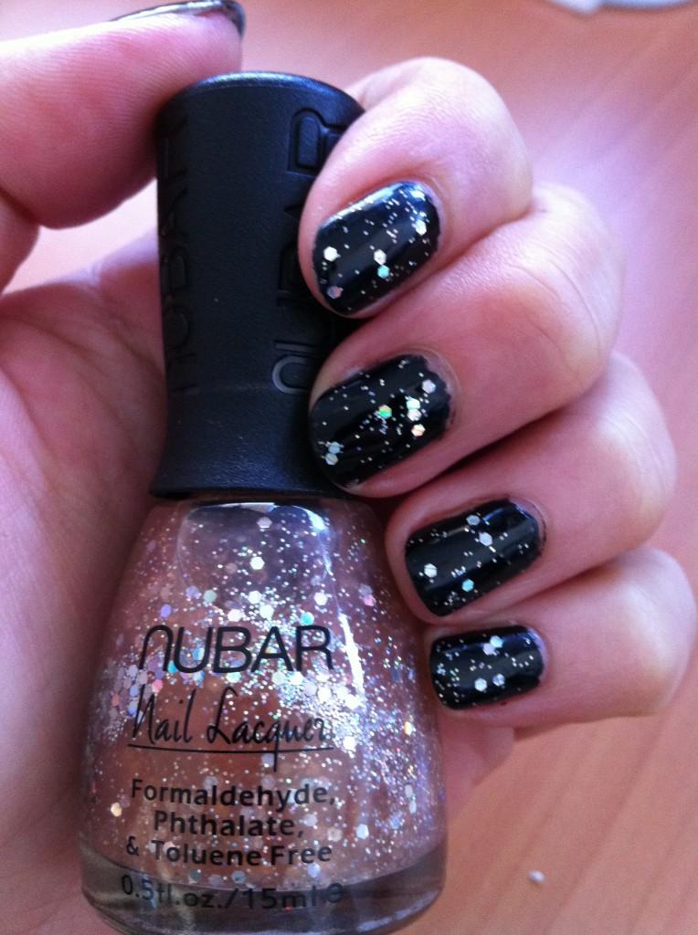 Nubar Lavender Shimmer Base noire