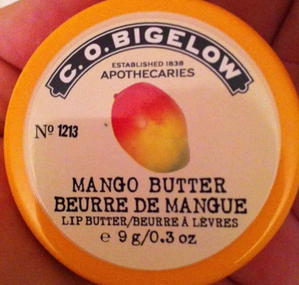 baume au goût de mangue