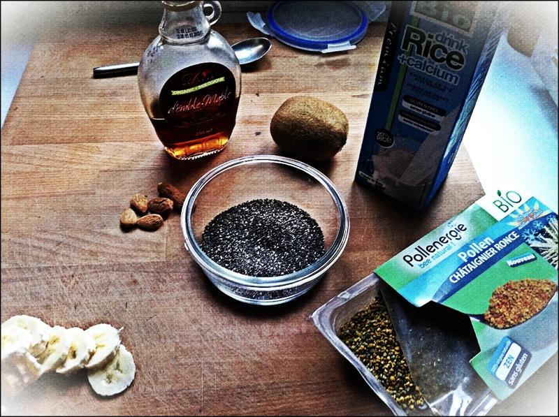 porridge au graines de chia