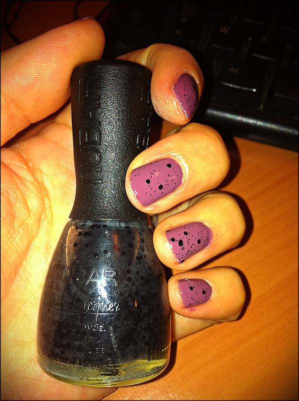 Butter London Toff + Black Polka Dot Nubar