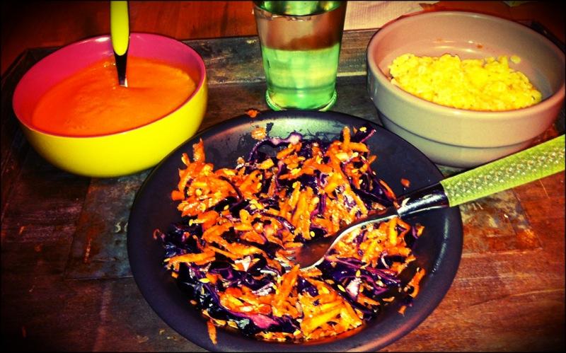 Le plateau repas de la malade