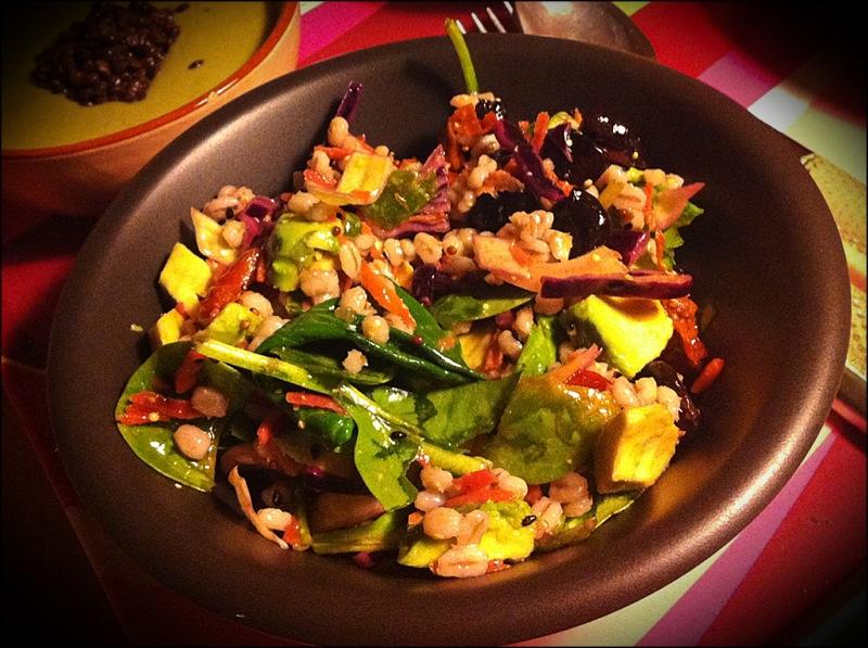 Salade d'hiver à l'orge