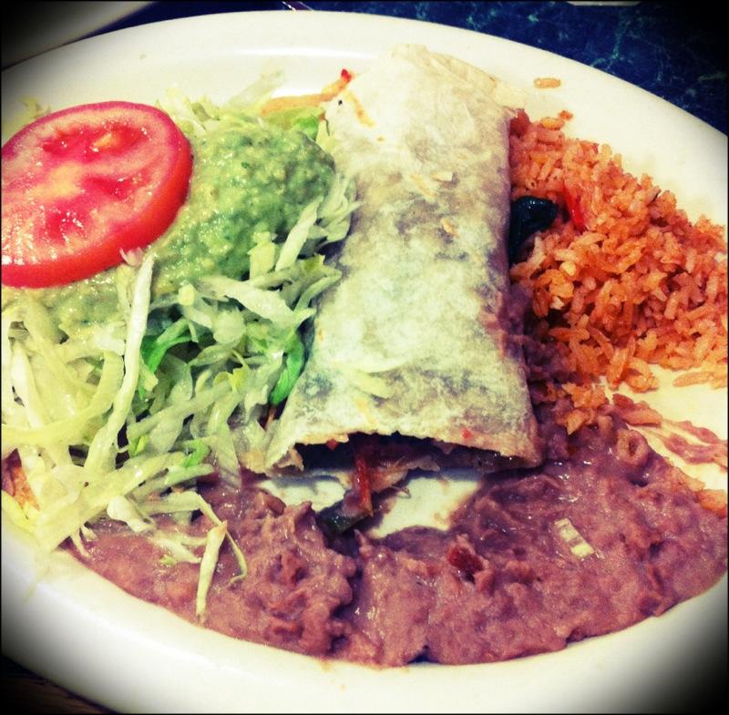 Repas mexicain MOCHE mais BON.