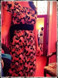 La robe qui ne pardonne pas en termes de transpiration.