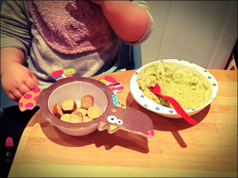 Porridge aux petits pois et chauchiche Taifun.