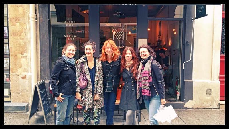 Happy Yogis in Paris