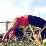 « Practice and all is coming » #Urdhva Dhanurasana