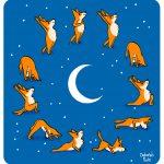 La lune et le yoga