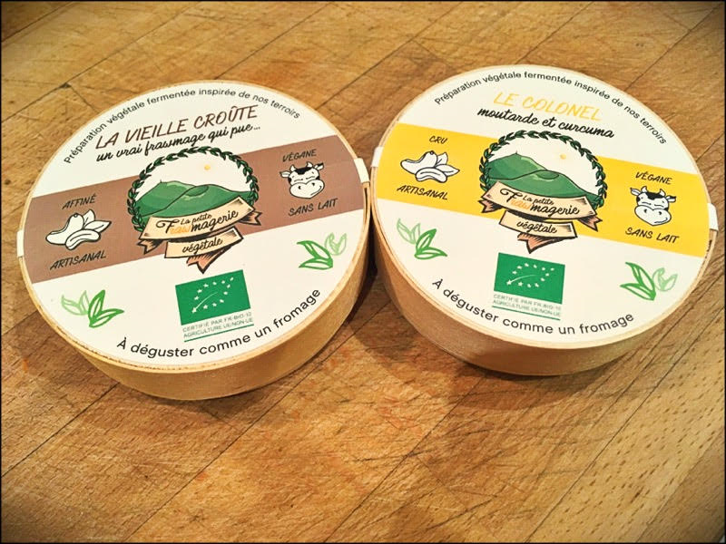 Nouveaux fromages végétaux délicieux