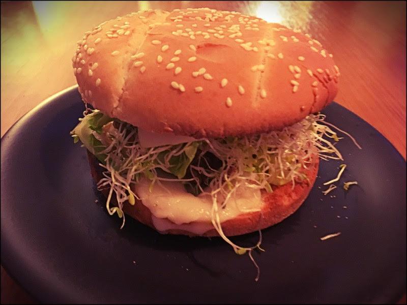 Burger vegan. Valeur sûre.