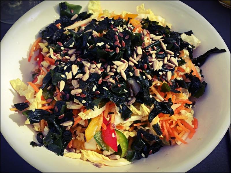 Salade végane