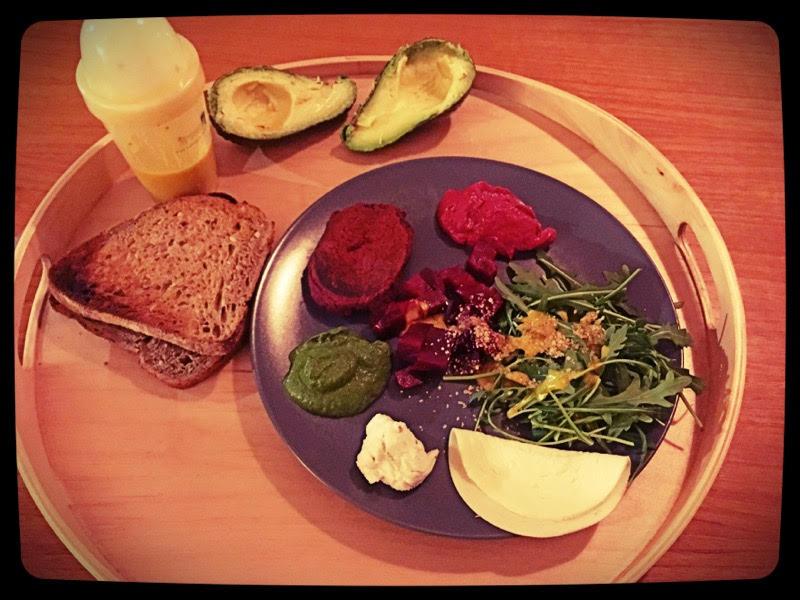 assiette mezze vegan