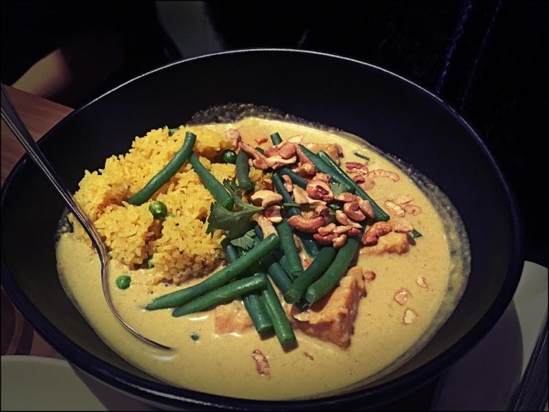Curry de légumes de ma voisine (j'ai pas goûté mais il paraît que c'était aussi excellent que le reste)
