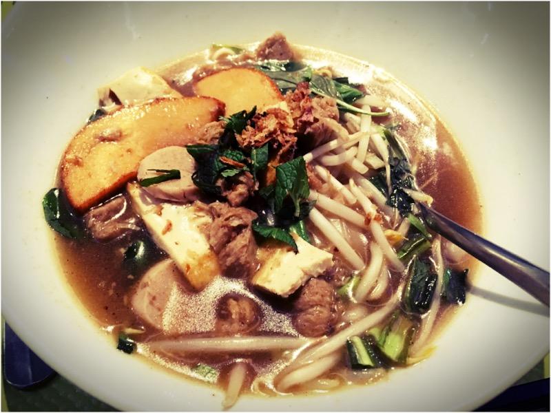 La soupe pho, ce plat tellement bon impossible à trouver en version vegan, sauf dans un restaurant vegan