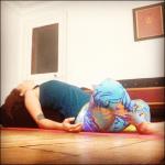 Un peu de yoga avant de dormir