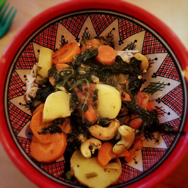 curry légumes végétal
