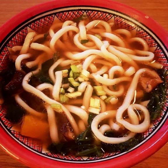 soupe nouilles chinoises vegan