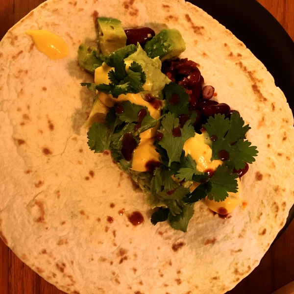 vegan tortillas