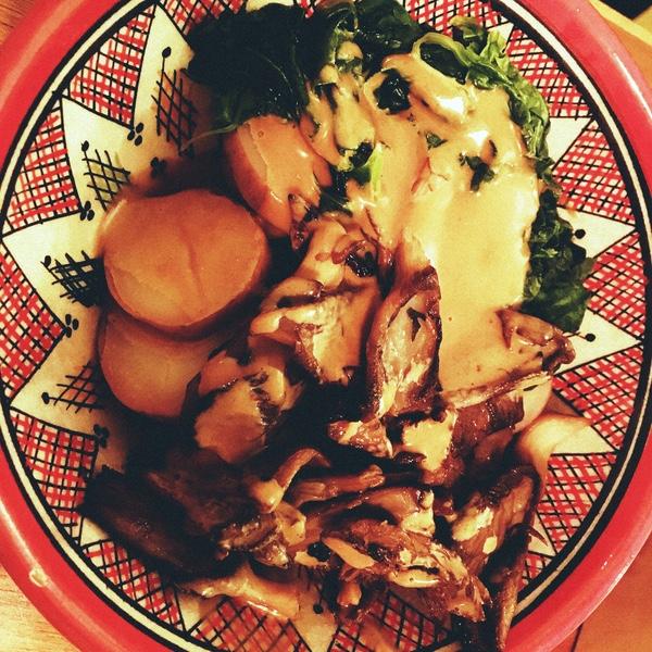 bowl avec pommes de terre