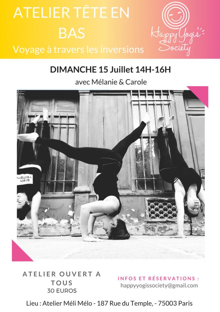 atelier yoga paris
