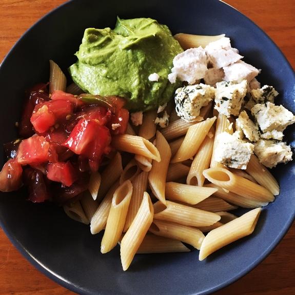 Repas sain vegan