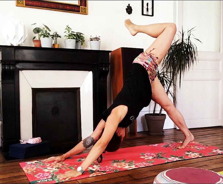 chien à trois pattes yoga