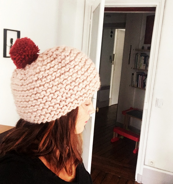 tricot bonnet express vegan
