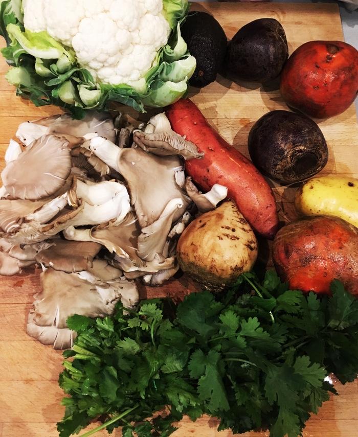 cuisine automne vegan